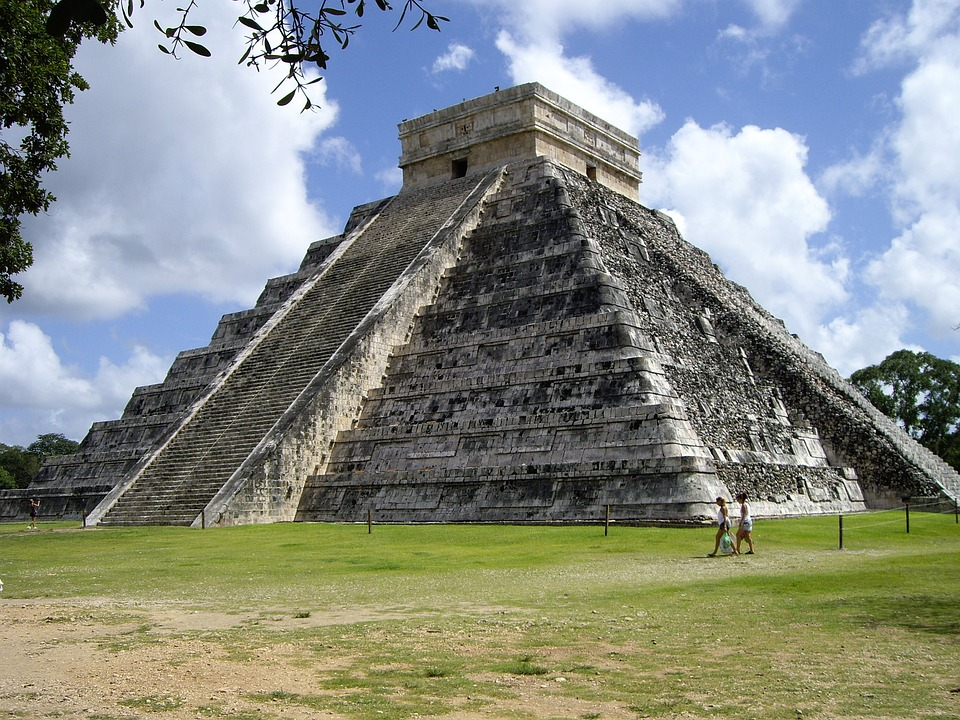 Ancient Chichen Itza.