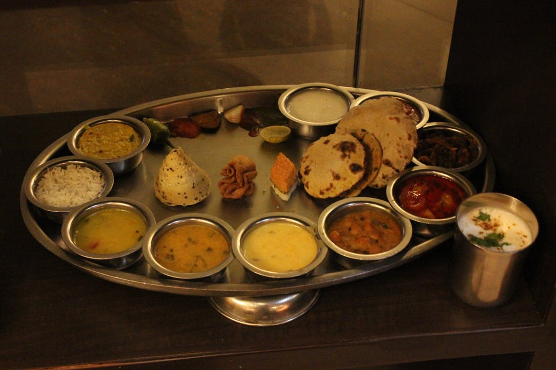Indian Thali, India Customs and Traditions