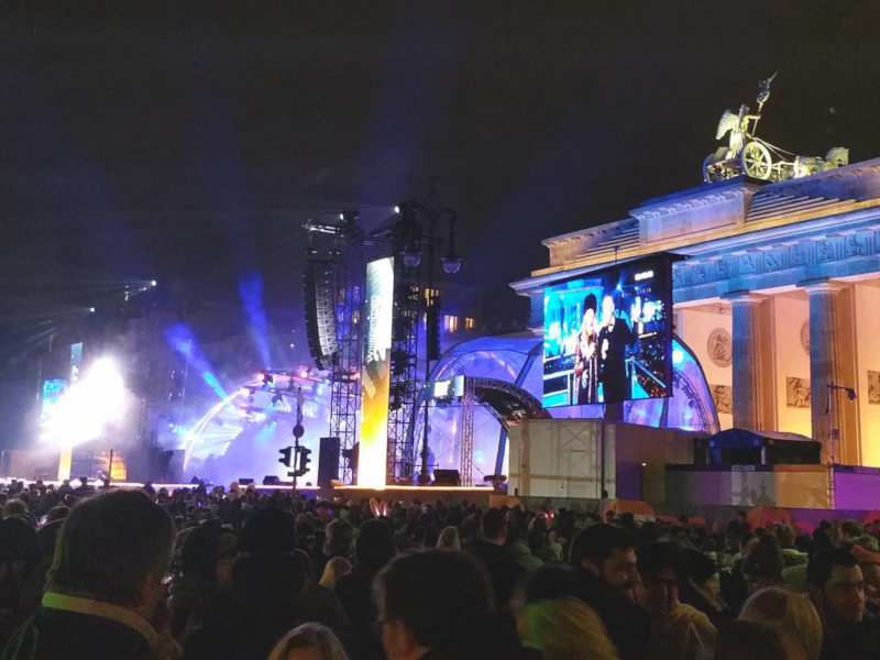 Brandenburg Gate - Berlin - New Year's Eve