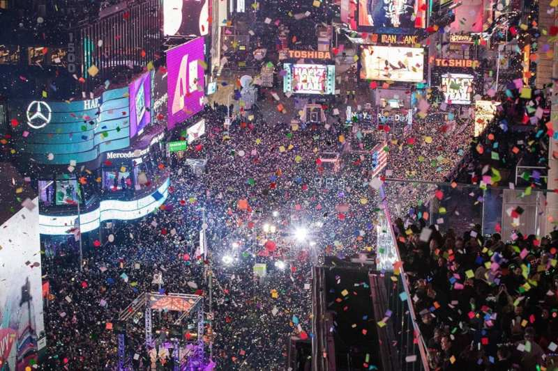 New York - New Year celebrations around the world