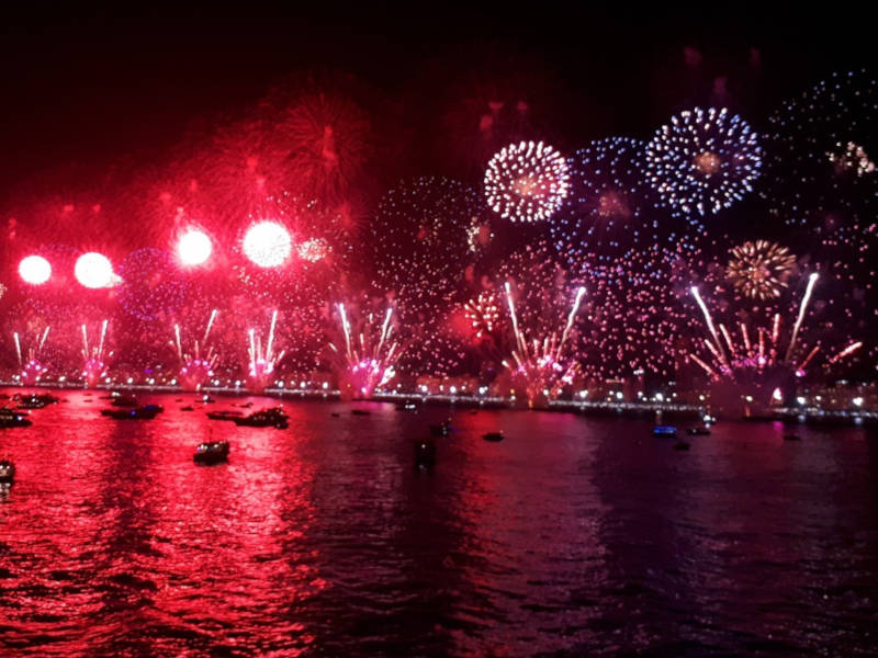 Copacabana Beach Reveillon - New Year celebrations around the world
